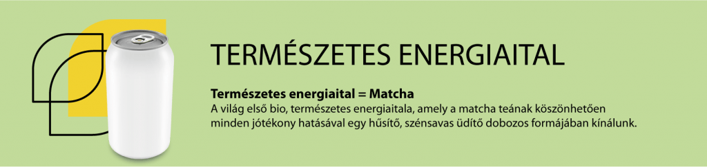 matcha természetes energiaital