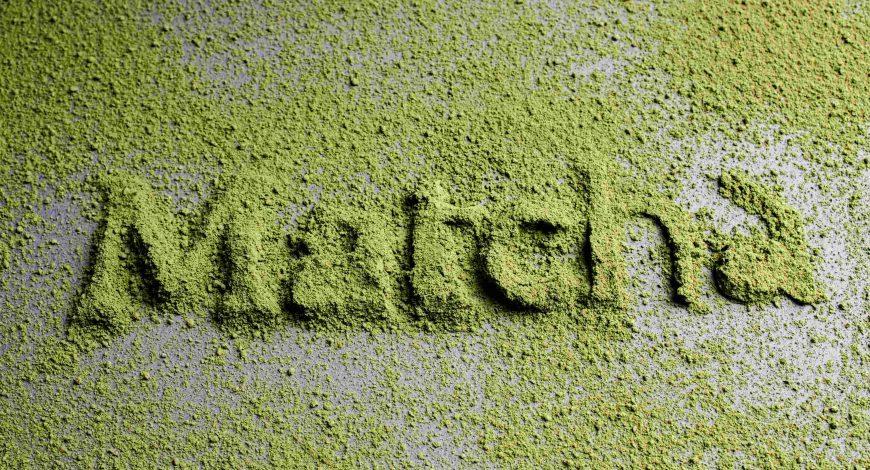 matcha tea elkészítése